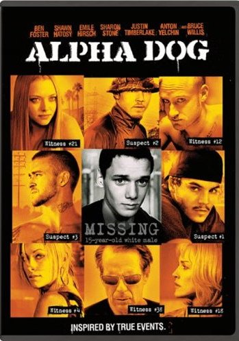 DVD Cover for Alpha Dog IMDB Link: Alpha Dog DVD Relase Date: 2007-05-01