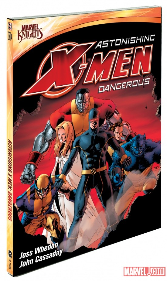 DVD Cover for Astonishing X-Men: Dangerous