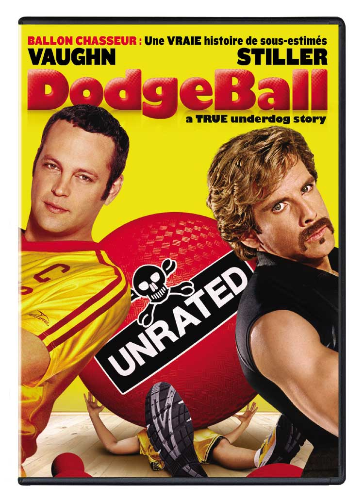 Dodgeball Unrated IMDB Link: Dodgeball: Unrated DVD Relase Date: 2005-07-12