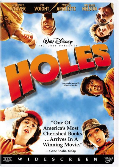 Warden From Holes. DVD Cover for Holes