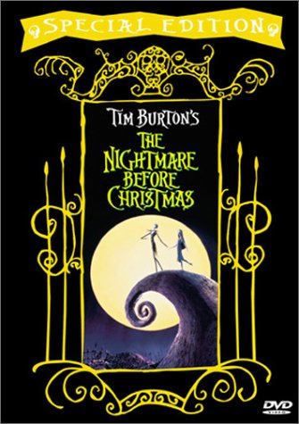 DVD Cover for the Special Edition of The Nightmare Before Christmas