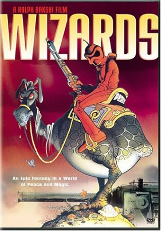 DVD Cover for Wizards