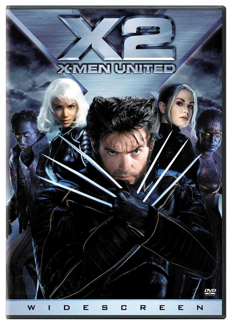 DVD Cover for X2