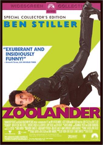DVD Cover for Zoolander starring Ben Stiller IMDB Link: Zoolander